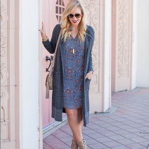 CAbi Provincial Floral Dress